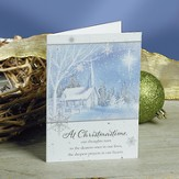 At Christmas Time, Christmas Cards, Pack of 20