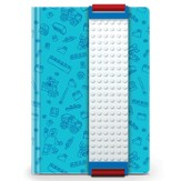 LEGO Journal with Building Band, Blue