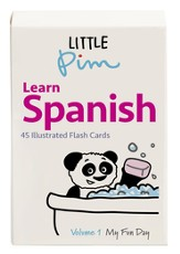 Little Pim Spanish Volume 1 Word & Phrase Flashcards