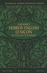 "515360: A Reader""s Hebrew-English Lexicon of the Old Testament"