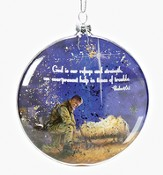 Kneeling Soldier Ornament