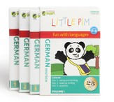 Little Pim German Volume 1 DVDs 3-Pack