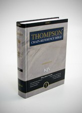 KJV Thompson Chain-Reference Bible, Hardcover, Thumb Indexed
