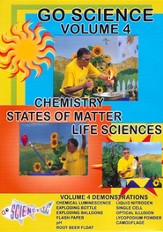 Chemistry, States of Matter, and Life Sciences DVD