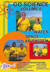Water, Space, and Solar System DVD