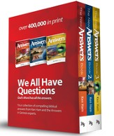 The New Answers Book Boxed Set, Volumes 1-3