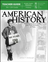 American History: Observations and Assessments from Creation to Today, Teacher Book