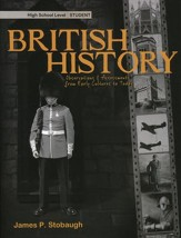 British History: Observations and Assessments from Creation to Today, Student Book - Slightly Imperfect