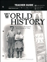 World History: Observations and Assessments from Creation to Today, Teacher Book