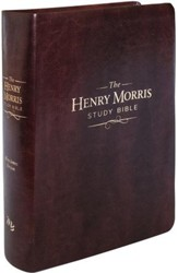 The KJV Henry Morris Study Bible, Imitation leather, brown
