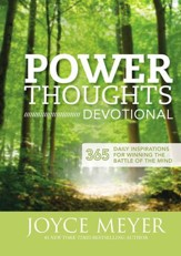 Power Thoughts Devotional: 365 Daily Inspirations for Winning the Battle of the Mind - Slightly Imperfect