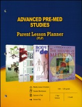 Advanced Pre-Med Studies Parent Lesson Plan