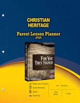 Christian Heritage Parent Lesson Plan