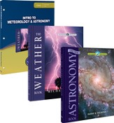 Intro to Meteorology & Astronomy Pack, 3 Volumes The Wonders of Creation Series