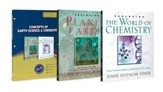 Concepts of Earth Science & Chemistry Pack, 3 Volumes