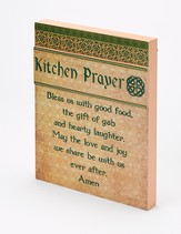 Irish Kitchen Prayer Wall Plaque