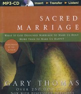 Sacred Marriage, Unabridged MP3-CD