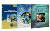 Concepts of Biogeography & Astronomy Pack, 3 Volumes