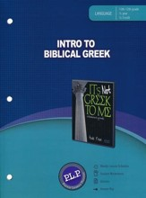 Intro to Biblical Greek Parent Lesson Planner