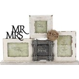 Mr. and Mrs. Tabletop Photo Frame