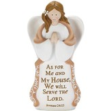 As For Me and My House Angel, Praying