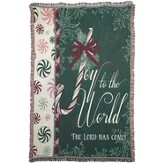 Joy To the World Throw - Slightly Imperfect