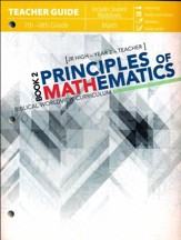 Principles of Mathematics Book 2, Teacher Guide