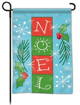 Noel, Blocks Flag, Small
