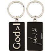 God Is Greater Than I Keyring