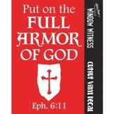 Full Armor of God Auto Decal