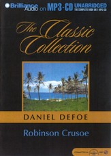 Robinson Crusoe                    - Audiobook on MP3 CD-ROM