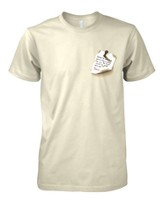 Gone to See Dad Shirt, Natural, 3X-Large