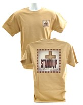Stand Up Shirt, Brown, XX-Large