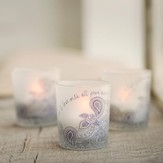 Live and Love With All Your Heart Tea Light Trio