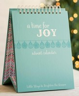 A Time for Joy Tabletop Advent Calendar & Devotion