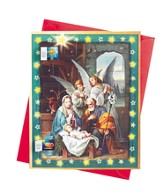 Joy To World Advent Calendar with Envelope