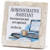 Administrative Assistant Tabletop Plaque