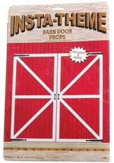 Barn Door Decorative Props