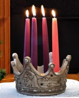 Birth Of the King Advent Wreath