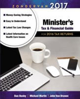 Zondervan 2017 Minister's Tax and Financial Guide