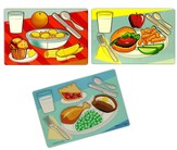 Breakfast, Lunch, and Dinner 3 Puzzle Set