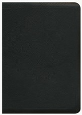 ESV MacArthur Study Bible, Premium Calfskin Leather, Black