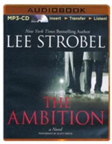 The Ambition: A Novel - unabridged audiobook on MP3-CD