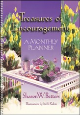 Treasures of Encouragement: A Monthly Planner