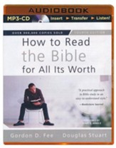 How to Read the Bible for All Its Worth - unabridged audiobook on MP3-CD