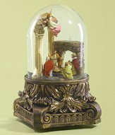 Musical Nativity, Glitter Globe