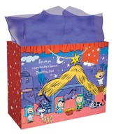 Peanuts Nativity Gift Bag