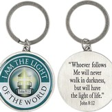 I Am the Light Of the World Keyring