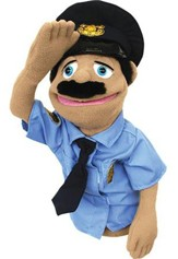 Police Officer, Hand Puppet
