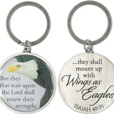 Wings As Eagles Keyring